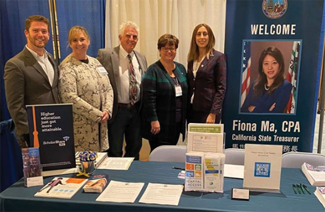 The Treasurer's team at the California State Association of Counties' Annual Conference